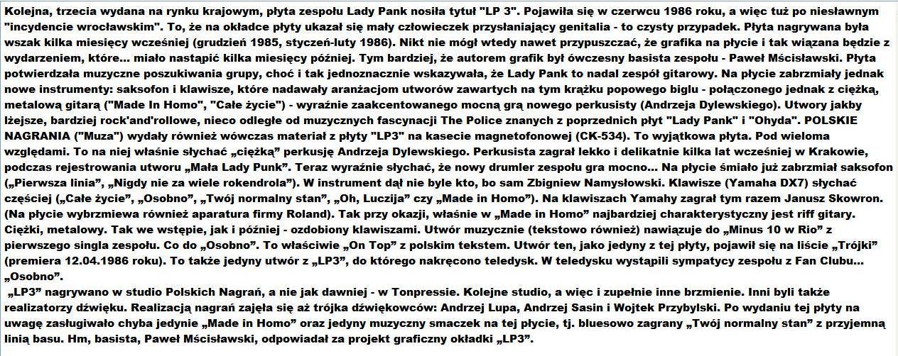 Lady Pank Drop Everything
