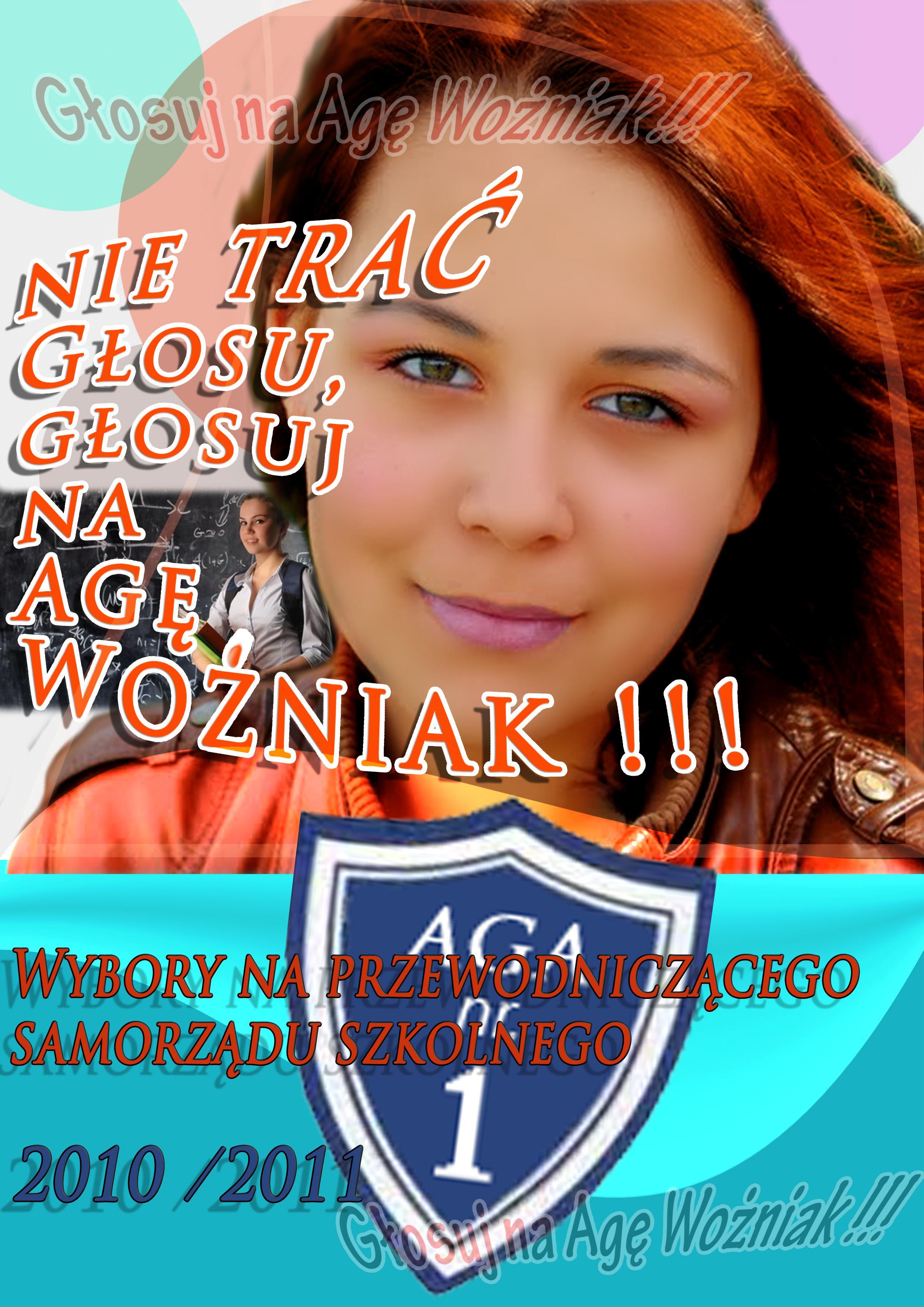 Plakat wyborczy - samorząd szkolny - plakat1_1